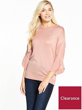 v-by-very-frill-sleeve-jumper