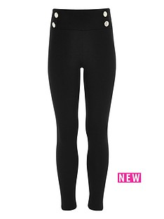 river-island-girls-black-ponte-military-leggings