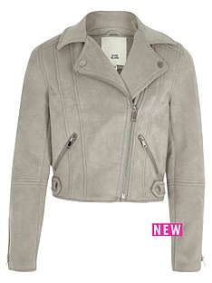 river-island-girls-grey-faux-suede-biker-jacket