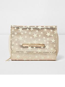 river-island-river-island-girls-glow-in-the-dark-star-print-trifold-purse