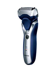 Panasonic ES-RT37 Wet and Dry 3-Blade Electric Foil Shaver - Blue