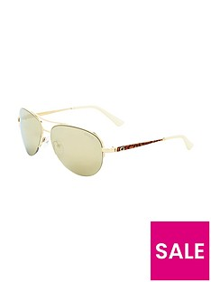 guess-brow-bar-aviator-sunglasses