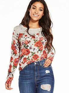 oasis-floral-print-jumper
