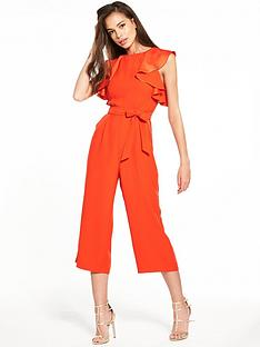 oasis-ruffle-top-jumpsuit-red