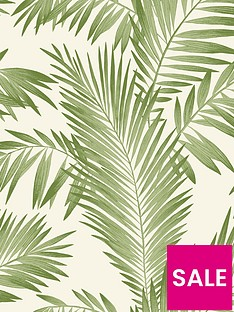 arthouse-tropical-palm-wallpaper-ndash-green