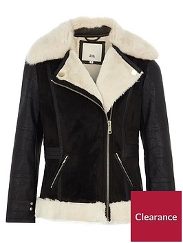 river-island-girls-black-faux-fur-collar-aviator-jacket