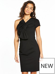 v-by-very-petite-one-shoulder-bow-dress