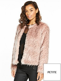 v-by-very-petite-short-faux-fur-coat
