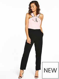 v-by-very-petite-bow-front-jumpsuit