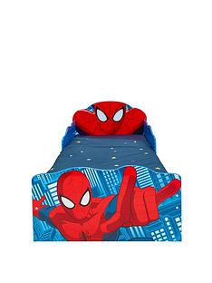 hello-home-spiderman-light-up-toddler-bed-with-underbed-storage-by-hellohome