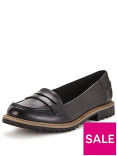 clarks-griffin-milly-wide-fit-loafer-black
