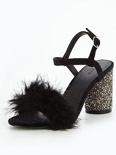 v-by-very-kayla-feather-glitter-heel-sandal-black