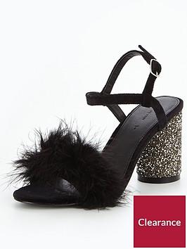 v-by-very-kayla-feather-glitter-heel-sandal-black