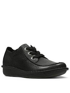 clarks-unstructured-funny-dream-flat-shoes-black
