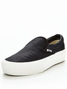 vans-ua-classic-slip-on-platform-embossed-blacknbsp