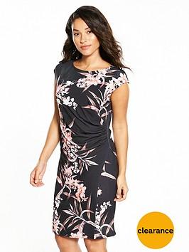 wallis-fern-floral-wrap-dress
