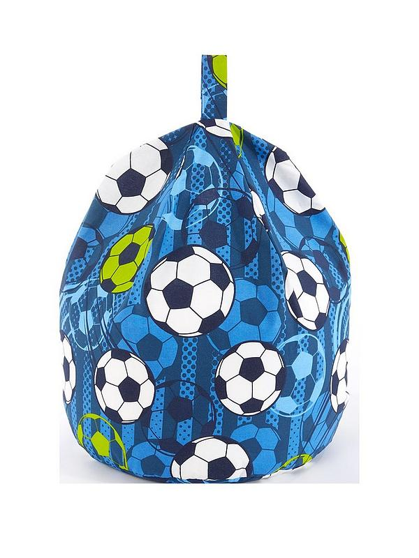 Astonishing Football Print Beanbag Ocoug Best Dining Table And Chair Ideas Images Ocougorg