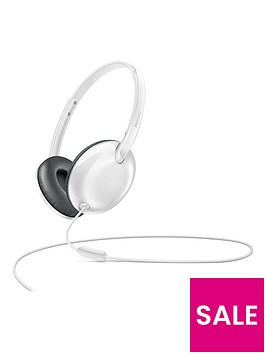 philips-flite-utralitenbspon-ear-headphones-withnbspmic-white