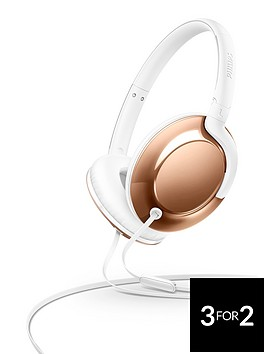 philips-flite-everlite-over-ear-headphones-with-micnbsp--rose-gold