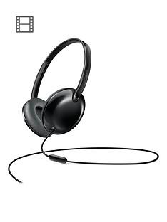 philips-flitenbspultralitenbspon-ear-headphones-with-micnbsp-nbspblack