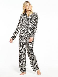 v-by-very-woven-viscose-leopard-print-pj-set