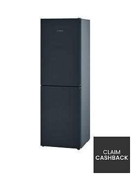 bosch-serie-4-kgn34vb35g-60cm-no-frost-fridge-freezer-with-vitafreshnbsp--black