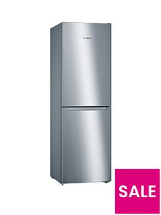bosch-serie-2-kgn34nl3ag-nofrost-fridge-freezer-stainless-steel-look