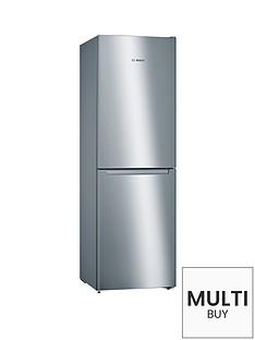 bosch-serie-2-kgn34nl3ag-nofrost-fridge-freezer-stainless-steel-look