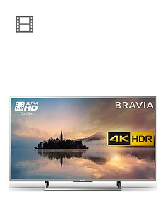 sony-kd49xe7073-49-inch-4k-ultra-hd-certifiednbsphdr-smart-tv-withnbspfreeviewnbsp-nbspsilver