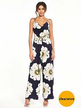 warehouse-melody-floral-jumpsuit