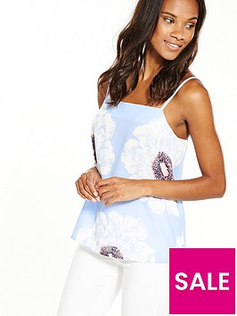 warehouse-melody-floral-cami