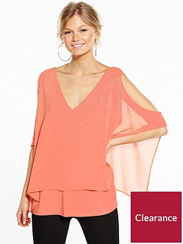 wallis-petite-scatter-hotfix-overlayer-top-orange