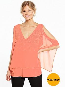 wallis-petite-scatter-hotfix-overlayer-top-orange