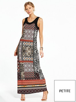 wallis-petite-patchwork-paisley-maxi-dress