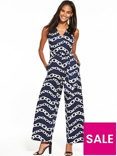 warehouse-chain-print-jumpsuit