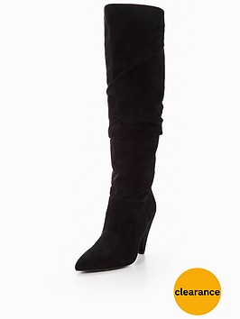 v-by-very-icy-suede-ruched-slouch-knee-boot-black