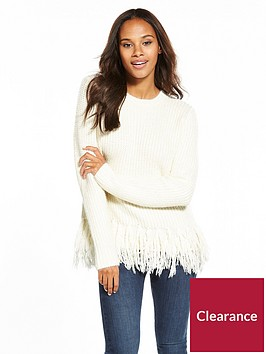 v-by-very-fringe-hem-jumper