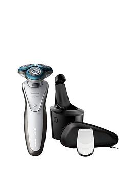 philips-series-7000-s771026-wet-amp-dry-menrsquos-electric-shavernbspwith-smartclean-system-amp-precision-trimmer