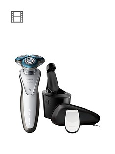 Philips Series 7000 Wet & Dry Men's Electric Shaver with SmartClean system & Precision Trimmer – S7710/26