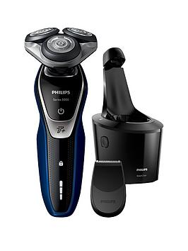 Philips Series 5000 Wet And Dry Men'S Electric Shaver With Turbo+ Mode &Amp; Smartclean - S5572/10