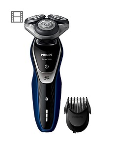 philips-series-5000-wet-and-dry-mens-electric-shaver-s557240-with-turbo-mode-amp-beard-trimmer-shaver-s557240