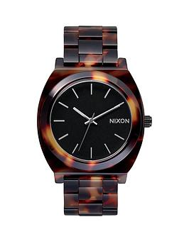 nixon-time-teller-tortoise-acetate-bracelet-ladies-watch