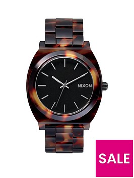 nixon-time-teller-tortoise-acetate-bracelet-ladies-watch