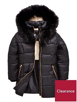 v-by-very-fleece-lined-black-parka
