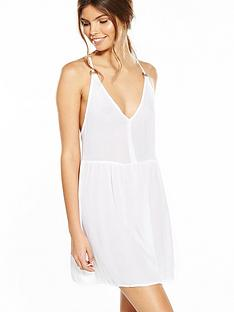 river-island-white-ring-back-cami-dress