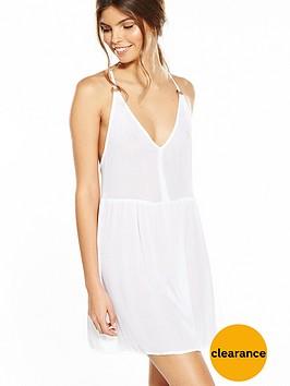 river-island-white-ring-back-cami-dress