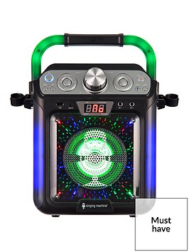 the-singing-machine-singing-machine-sml682btbk-bluetooth-cdg-tablet-karaoke-machine