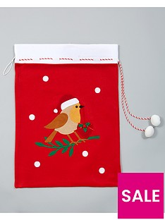 gisela-graham-felt-christmas-present-sack-with-santa-robin