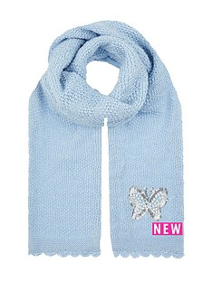 monsoon-pearl-butterfly-knitted-scarf