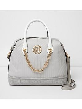 river-island-quilted-bowler-bag